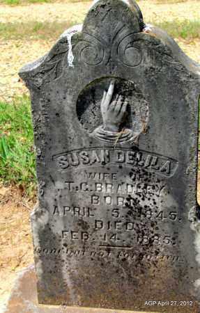BRADLEY, SUSAN DELILA - Bradley County, Arkansas   SUSAN DELILA BRADLEY - Arkansas Gravestone Photos
