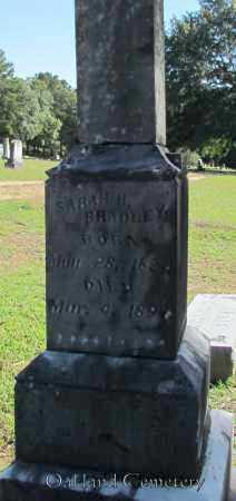 BRADLEY, SARAH H - Bradley County, Arkansas | SARAH H BRADLEY - Arkansas Gravestone Photos