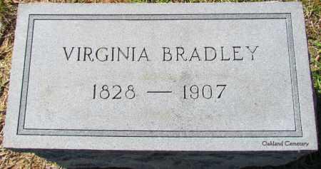 BRADLEY, VIRGINIA - Bradley County, Arkansas | VIRGINIA BRADLEY - Arkansas Gravestone Photos