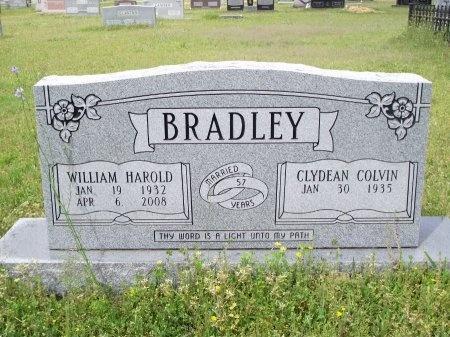 BRADLEY, WILLIAM HAROLD - Bradley County, Arkansas | WILLIAM HAROLD BRADLEY - Arkansas Gravestone Photos