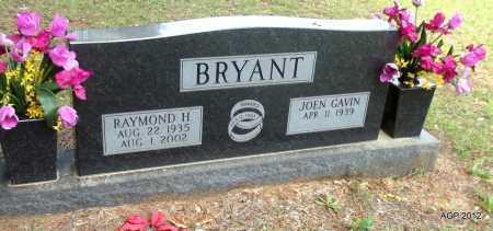 BRYANT, RAYMOND H - Bradley County, Arkansas   RAYMOND H BRYANT - Arkansas Gravestone Photos