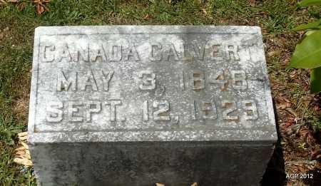 CALVERT, CANADA - Bradley County, Arkansas | CANADA CALVERT - Arkansas Gravestone Photos