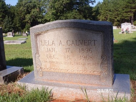 GOSSIEN CALVERT, LELA AMELIA - Bradley County, Arkansas | LELA AMELIA GOSSIEN CALVERT - Arkansas Gravestone Photos