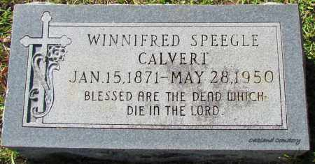 CALVERT, WINNIFRED - Bradley County, Arkansas   WINNIFRED CALVERT - Arkansas Gravestone Photos