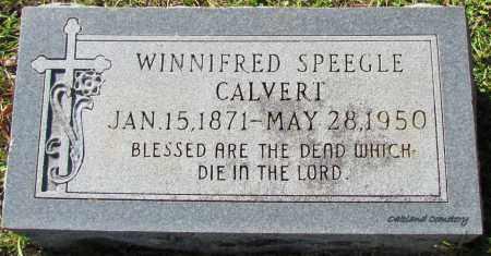 CALVERT, WINNIFRED - Bradley County, Arkansas | WINNIFRED CALVERT - Arkansas Gravestone Photos