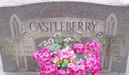CASTLEBERRY, MOLLIE (CLOSE UP) - Bradley County, Arkansas | MOLLIE (CLOSE UP) CASTLEBERRY - Arkansas Gravestone Photos