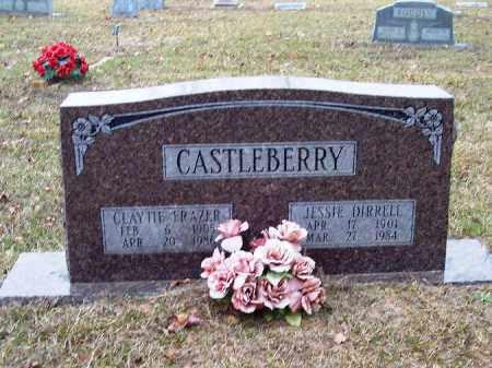 CASTLEBERRY, CLAYTIE - Bradley County, Arkansas | CLAYTIE CASTLEBERRY - Arkansas Gravestone Photos