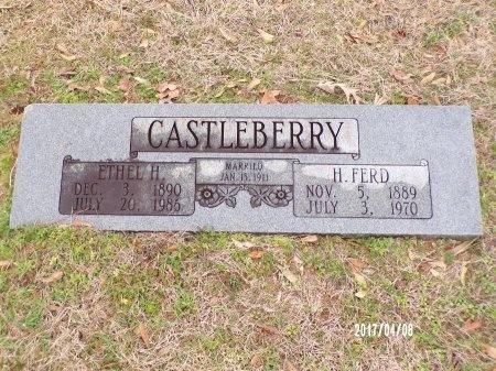 CASTLEBERRY, HENRY FERD - Bradley County, Arkansas | HENRY FERD CASTLEBERRY - Arkansas Gravestone Photos