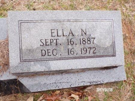 CASTLEBERRY, ELLA (CLOSE UP) - Bradley County, Arkansas   ELLA (CLOSE UP) CASTLEBERRY - Arkansas Gravestone Photos