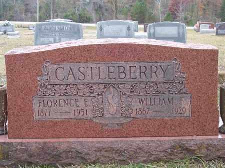 CASTLEBERRY, FLORENCE E - Bradley County, Arkansas | FLORENCE E CASTLEBERRY - Arkansas Gravestone Photos