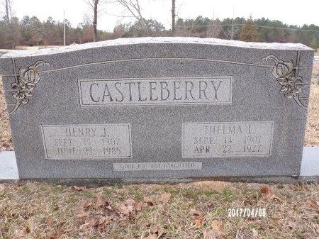 CASTLEBERRY, THELMA L - Bradley County, Arkansas | THELMA L CASTLEBERRY - Arkansas Gravestone Photos