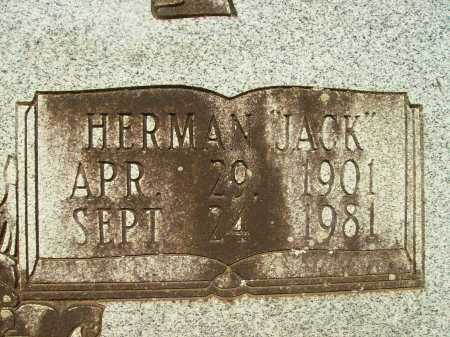 "CASTLEBERRY, HERMAN ""JACK"" (CLOSE UP) - Bradley County, Arkansas | HERMAN ""JACK"" (CLOSE UP) CASTLEBERRY - Arkansas Gravestone Photos"