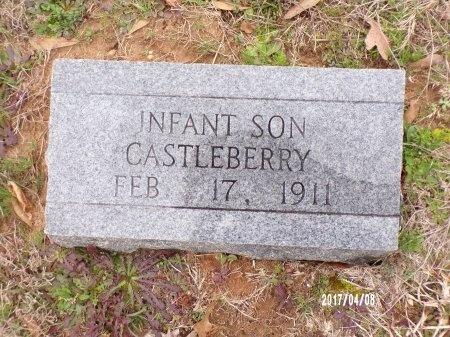 CASTLEBERRY, INFANT - Bradley County, Arkansas   INFANT CASTLEBERRY - Arkansas Gravestone Photos