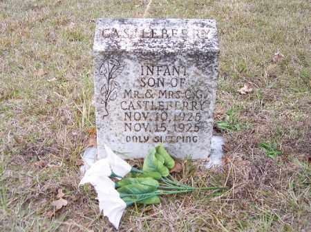 CASTLEBERRY, INFANT SON - Bradley County, Arkansas | INFANT SON CASTLEBERRY - Arkansas Gravestone Photos