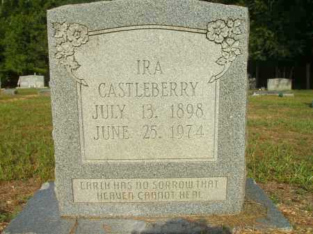 CASTLEBERRY, IRA - Bradley County, Arkansas | IRA CASTLEBERRY - Arkansas Gravestone Photos