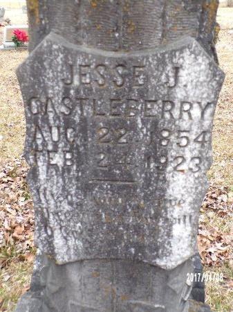 CASTLEBERRY, JESSE JAMES (CLOSE UP) - Bradley County, Arkansas | JESSE JAMES (CLOSE UP) CASTLEBERRY - Arkansas Gravestone Photos