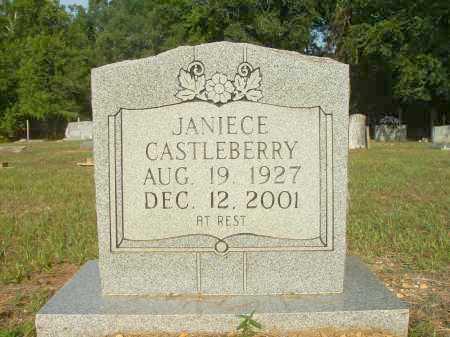 CASTLEBERRY, JANIECE - Bradley County, Arkansas | JANIECE CASTLEBERRY - Arkansas Gravestone Photos