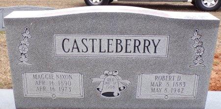 CASTLEBERRY, MAGGIE (CLOSE UP) - Bradley County, Arkansas | MAGGIE (CLOSE UP) CASTLEBERRY - Arkansas Gravestone Photos