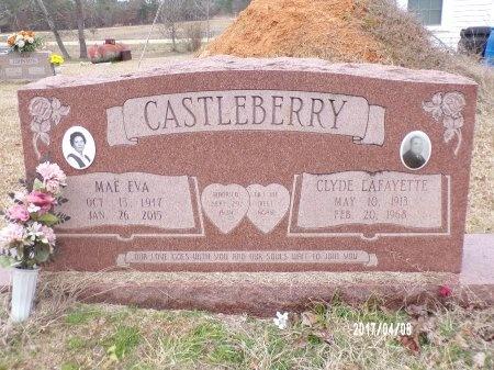CASTLEBERRY, CLYDE LAFAYETTE - Bradley County, Arkansas   CLYDE LAFAYETTE CASTLEBERRY - Arkansas Gravestone Photos