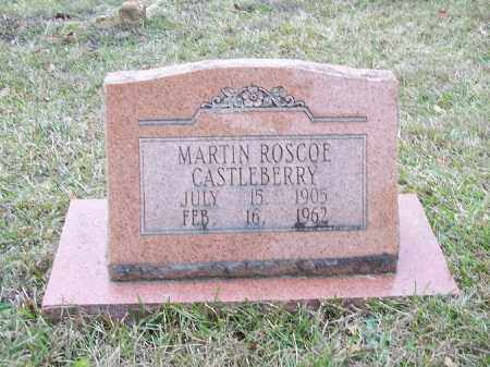 CASTLEBERRY, MARTIN ROSCOE - Bradley County, Arkansas | MARTIN ROSCOE CASTLEBERRY - Arkansas Gravestone Photos