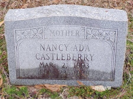 CASTLEBERRY, NANCY ADA - Bradley County, Arkansas | NANCY ADA CASTLEBERRY - Arkansas Gravestone Photos