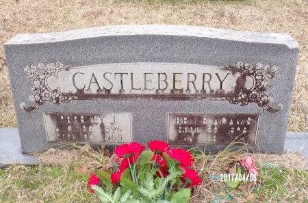 CASTLEBERRY, BELLE - Bradley County, Arkansas   BELLE CASTLEBERRY - Arkansas Gravestone Photos