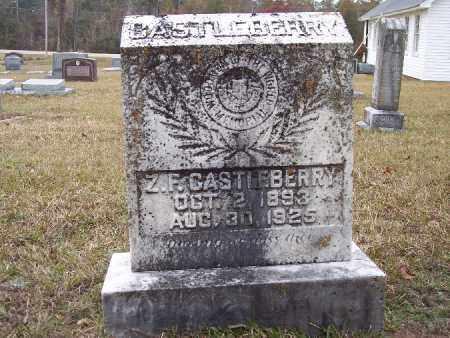 CASTLEBERRY, Z F - Bradley County, Arkansas | Z F CASTLEBERRY - Arkansas Gravestone Photos