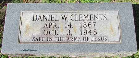 CLEMENTS, DANIEL W - Bradley County, Arkansas | DANIEL W CLEMENTS - Arkansas Gravestone Photos