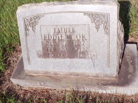 COOK, EDDIE - Bradley County, Arkansas | EDDIE COOK - Arkansas Gravestone Photos