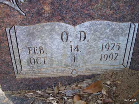 COOK, O D - Bradley County, Arkansas   O D COOK - Arkansas Gravestone Photos