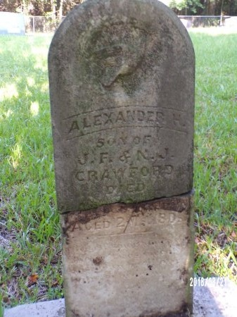 CRAWFORD, ALEXANDER H - Bradley County, Arkansas | ALEXANDER H CRAWFORD - Arkansas Gravestone Photos