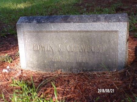 CRAWFORD, EDWIN RUSSELL - Bradley County, Arkansas   EDWIN RUSSELL CRAWFORD - Arkansas Gravestone Photos