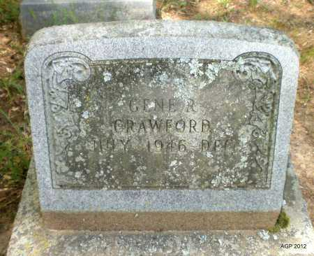 CRAWFORD, GENE R - Bradley County, Arkansas   GENE R CRAWFORD - Arkansas Gravestone Photos