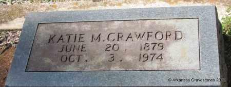 CRAWFORD, KATIE M - Bradley County, Arkansas   KATIE M CRAWFORD - Arkansas Gravestone Photos