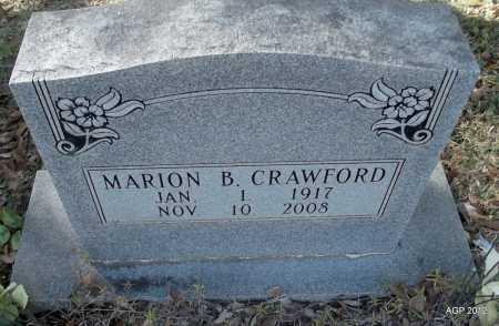 CRAWFORD, MARION - Bradley County, Arkansas | MARION CRAWFORD - Arkansas Gravestone Photos