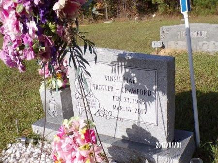 CRAWFORD, VINNIE MAE - Bradley County, Arkansas | VINNIE MAE CRAWFORD - Arkansas Gravestone Photos
