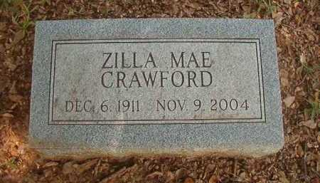 CRAWFORD, ZILLA MAE - Bradley County, Arkansas   ZILLA MAE CRAWFORD - Arkansas Gravestone Photos