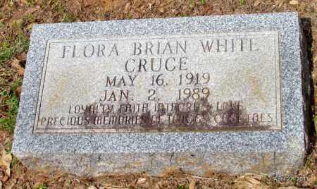 CRUCE, FLORA BRIAN - Bradley County, Arkansas | FLORA BRIAN CRUCE - Arkansas Gravestone Photos