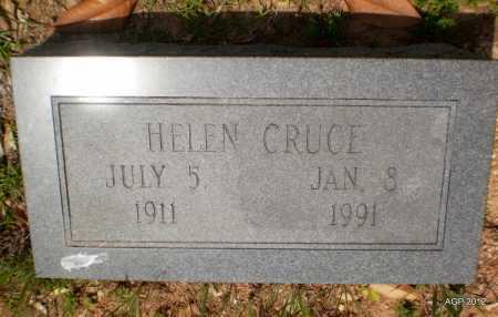 CRUCE, HELEN - Bradley County, Arkansas | HELEN CRUCE - Arkansas Gravestone Photos