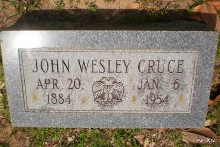 CRUCE, JOHN WESLEY - Bradley County, Arkansas   JOHN WESLEY CRUCE - Arkansas Gravestone Photos