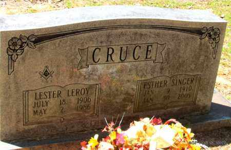 CRUCE, ESTHER - Bradley County, Arkansas | ESTHER CRUCE - Arkansas Gravestone Photos