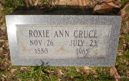 CRUCE, ROXIE ANN - Bradley County, Arkansas | ROXIE ANN CRUCE - Arkansas Gravestone Photos