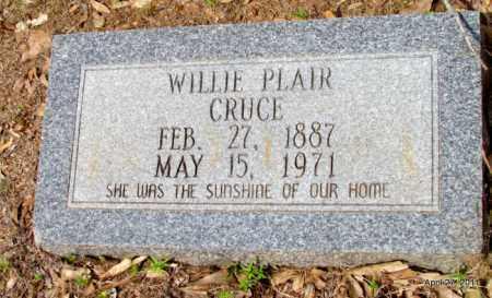 CRUCE, WILLIE - Bradley County, Arkansas | WILLIE CRUCE - Arkansas Gravestone Photos