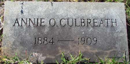 CULBREATH, ANNIE O - Bradley County, Arkansas   ANNIE O CULBREATH - Arkansas Gravestone Photos