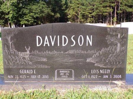 NEELY DAVIDSON, LOIS MAE - Bradley County, Arkansas | LOIS MAE NEELY DAVIDSON - Arkansas Gravestone Photos