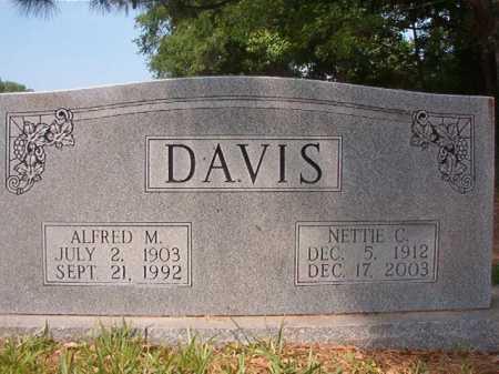 DAVIS, NETTIE C - Bradley County, Arkansas | NETTIE C DAVIS - Arkansas Gravestone Photos