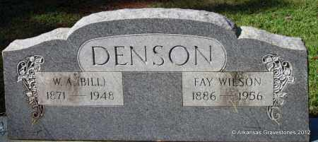 DENSON, FAY - Bradley County, Arkansas | FAY DENSON - Arkansas Gravestone Photos