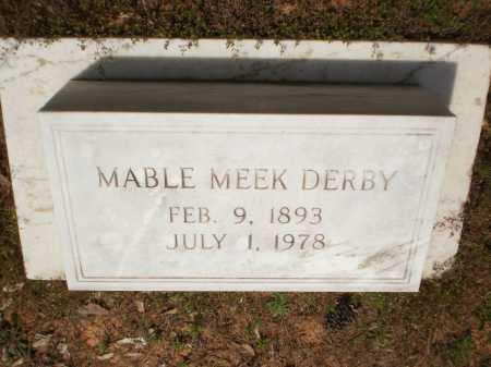 DERBY, MABLE - Bradley County, Arkansas | MABLE DERBY - Arkansas Gravestone Photos