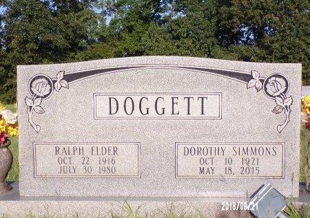 DOGGETT, RALPH ELDER - Bradley County, Arkansas | RALPH ELDER DOGGETT - Arkansas Gravestone Photos