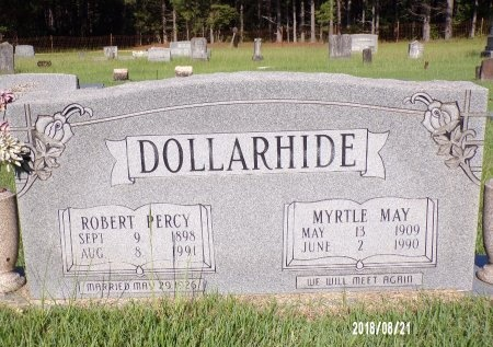 DOLLARHIDE, MYRTLE MAY (CLOSE UP) - Bradley County, Arkansas | MYRTLE MAY (CLOSE UP) DOLLARHIDE - Arkansas Gravestone Photos
